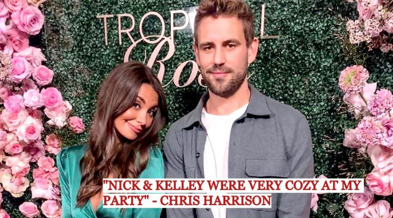 """Nick Viall Dating Kelley Flanagan? Chris Harrison Says They Were """"Very Cozy"""" at His Party"""