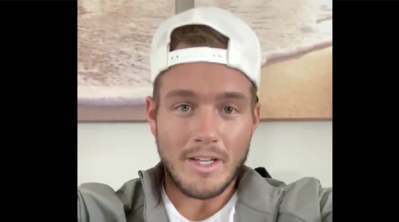 Colton Underwood Tests Positive for Coronavirus, Here's What He Said