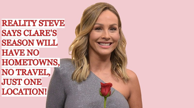 Reality Steve Says The Bachelorette Is Filming at a Resort for 5 Weeks