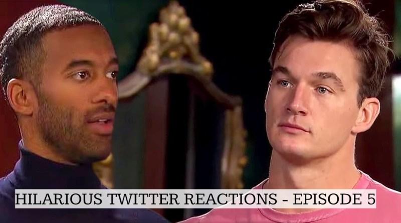 Hilarious Twitter Reactions From Episode 5 of The Bachelor – Matt James