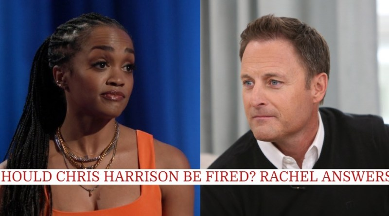 Rachel Lindsay Responds to Chris Harrison's Apology & If He Should Be Fired