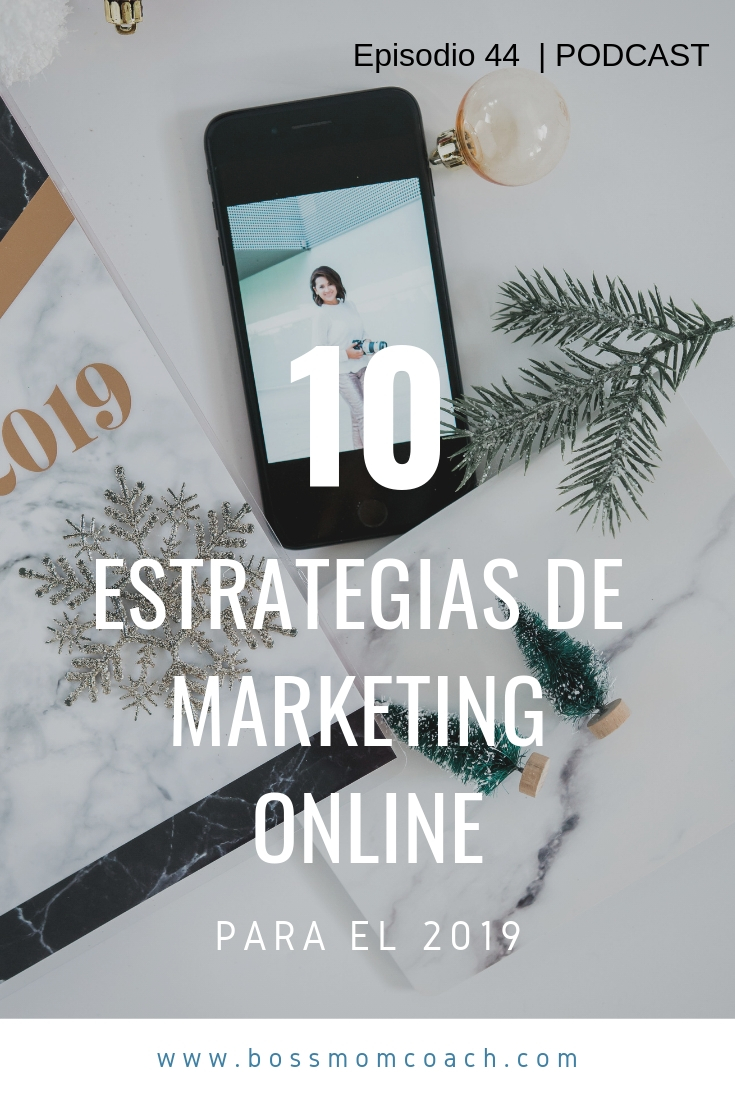 10 ESTRATEGIAS DE MARKETING ONLINE