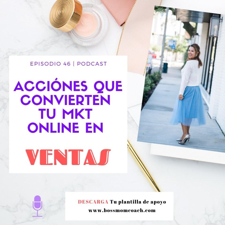 Acciones que convierten tu mkt online en ventas