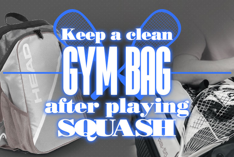 Keeping a clean gym bag after playing 1