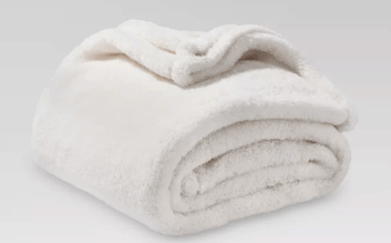 Threshold Fuzzy Blanket Throw Blanket- $14.24