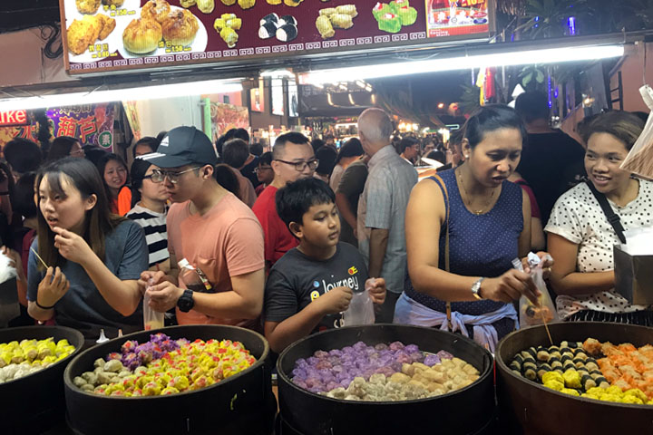 Malacca night market