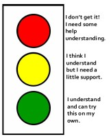 7. I use the TRAFFIC LIGHT extensively for ONGOING FORMATIVE ASSESSMENT.