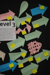 5. An example of a BUMP IT UP WALL in my classroom.