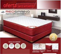 red spring colchones sommiers gani boster rosario articulos hogar