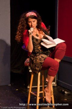 Rebecca Davis in He Said She Said by Lee Wochner October 2009
