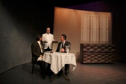 Daniel Billet, James Sullivan, and Aaron Wiseman in Betrayal
