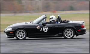 Miata at Autocross