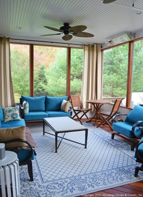 Flat Ceiling Porch, Stow MA