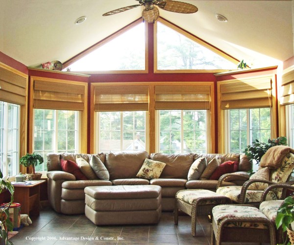 Sunroom with Cathedral Ceiling, Billerica, MA