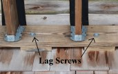 Lag Screws label