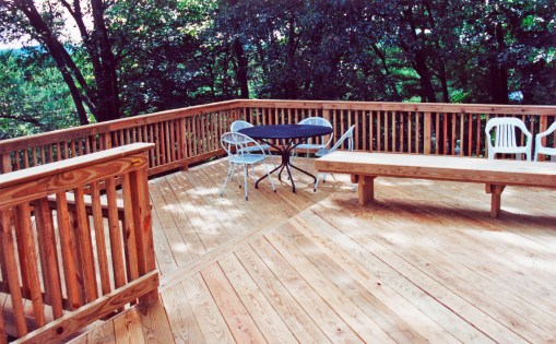 PT deck in 1998