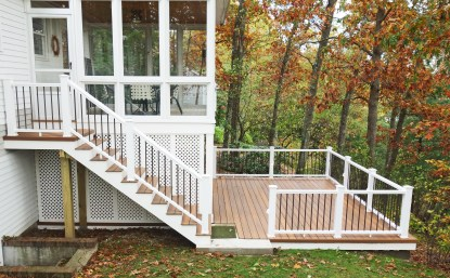 Deck & Sunroom with a View