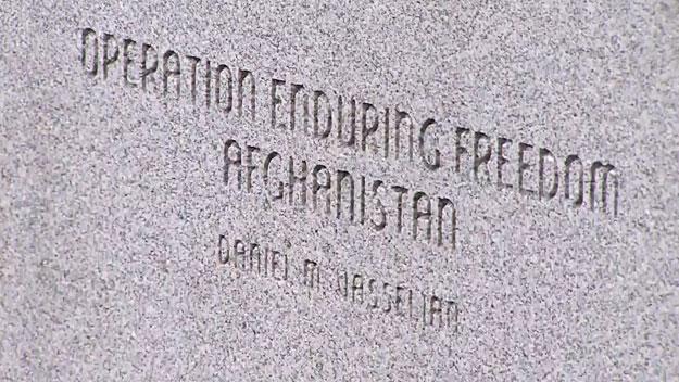 Abington Adds Marine Killed In Afghanistan To War Memorial