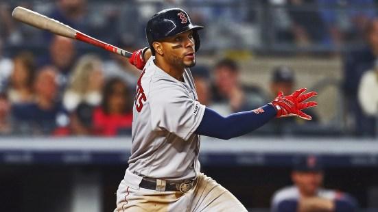 Xander Bogaerts represents the Red Sox in a new Backyard Baseball.
