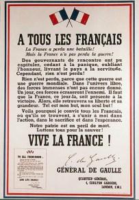 Appeal of June 18, 1940 - Consulat Général de France à Boston