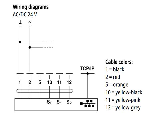 iot actuator wiring diagram and setup  boston aircontrols