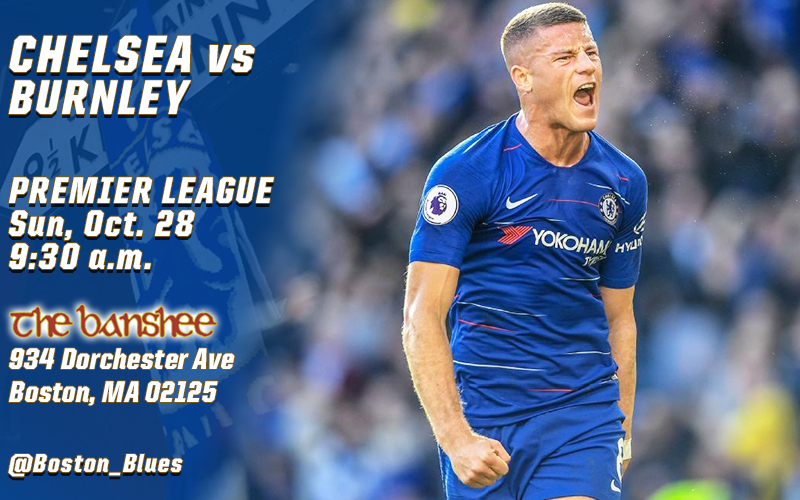 Chelsea vs Burnley_Match Graphic