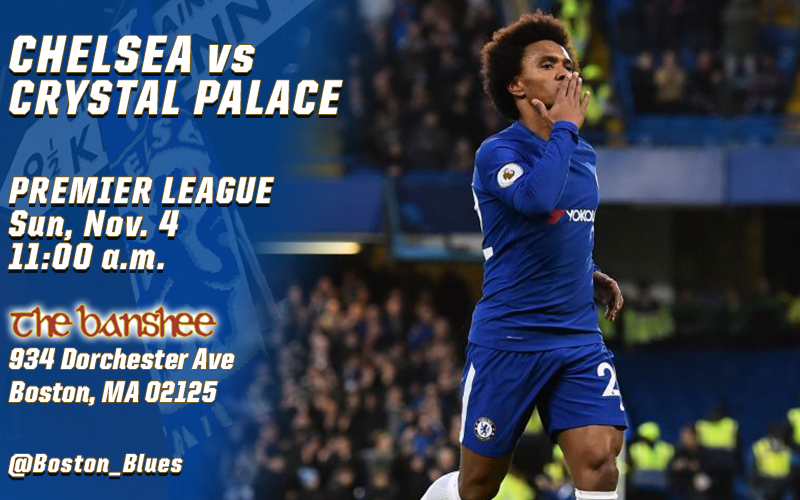 Chelsea vs Crystal Palace_Match Graphic