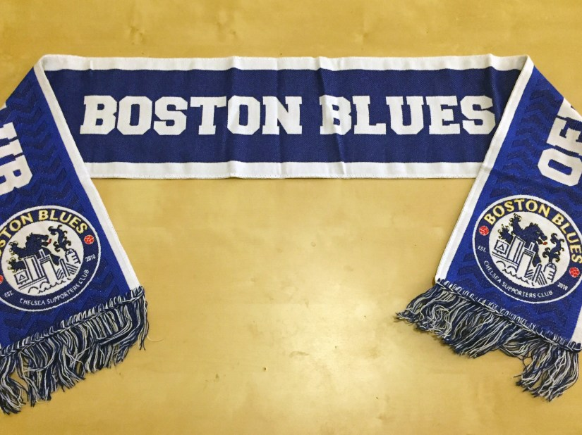 Boston Blues Scarf