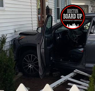 Distracted Driving - Boston Board Up