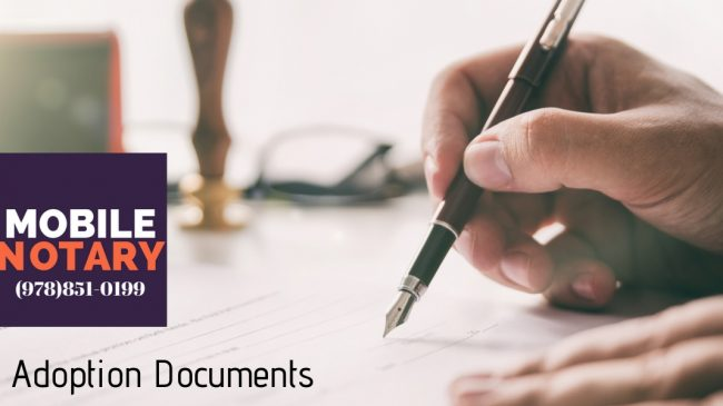 Adoption Document Notary Service