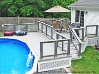 A Pool Deck Solution  Suburban Boston Decks and Porches blog