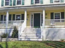 New Homes with Front Porches