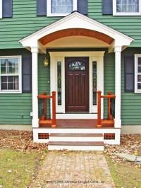 Front Porches  A Pictorial Essay  Suburban Boston Decks ...
