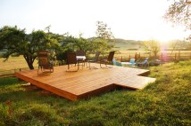 Freestanding Deck And