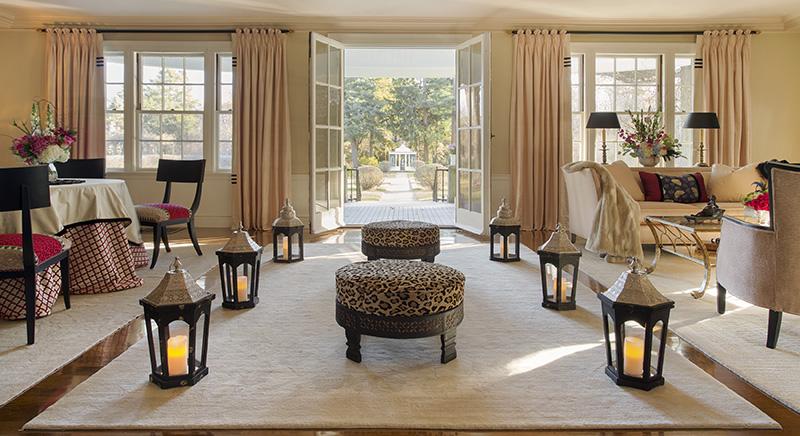 Art Deco Egyptian Revival Interior Design Boston Design