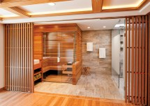 Home Spa Sauna Bathroom