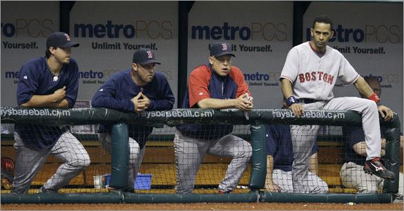 Josh Beckett, Julio Lugo, and others, 6/30/2008