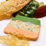 這是另一套套餐的前菜,三色蔬菜凍