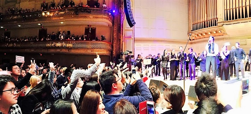 Chinese King of Pop Wang LeeHom Rocks BSO and Receives