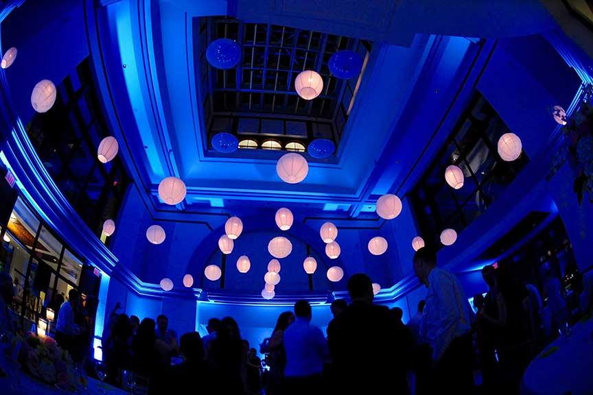 Paper Lanterns Boston Event Lighting