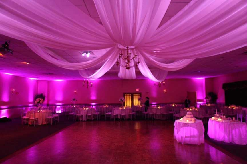 Wedding Lighting  Boston Event Lighting