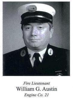 Photo of Fire Lieutenant Austin.