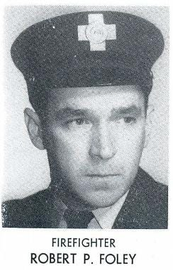 Photo of Fire Fighter Robert P. Foley, 1955.