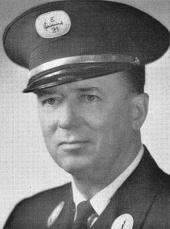 Photo of Fire Lieutenant McCormick.