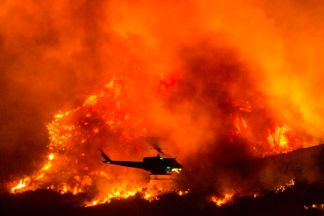 More Than 200 Campers Airlifted to Safety After Being Trapped by Wildfire in California's Sierra National Forest