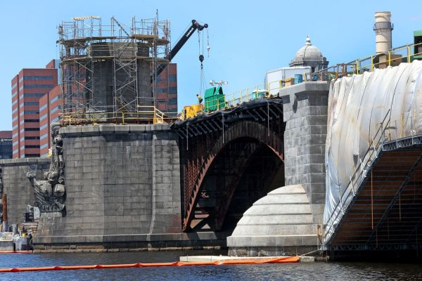 Contractors Longfellow Bridge