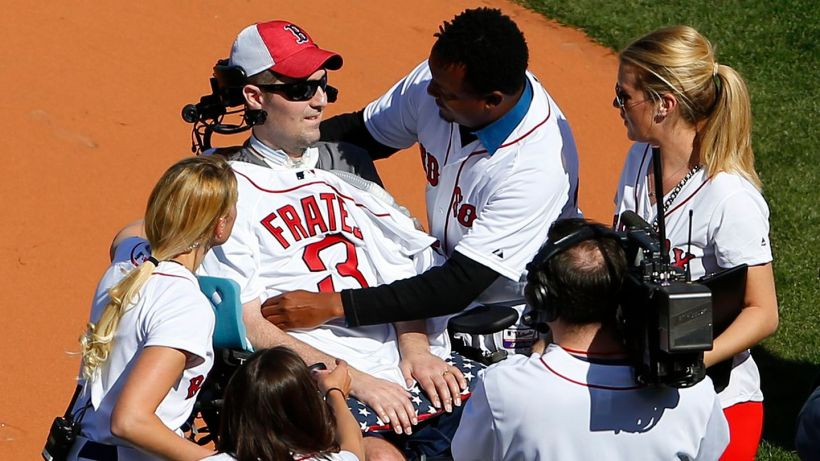 Image result for pete frates red sox