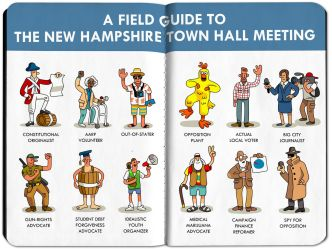The real audience at N H town hall meetings The Boston Globe