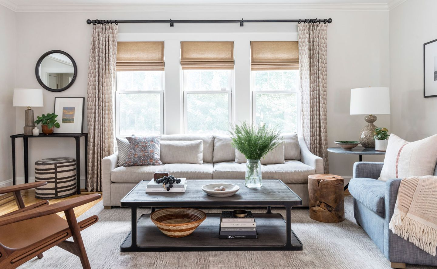 Comfort And Durability Are Key To A Living Room Makeover