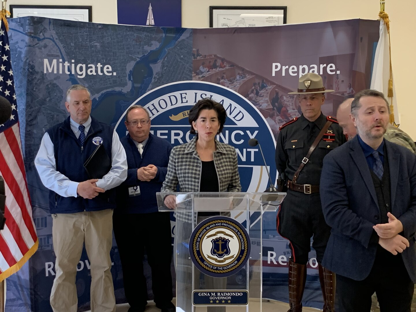 Raimondo: R.I. still has 20 coronavirus cases; child care centers ...